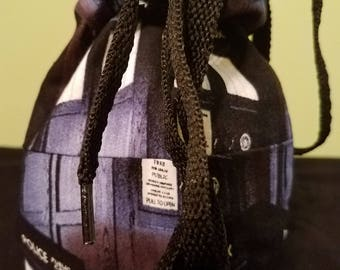 Doctor Who reversible dice bag
