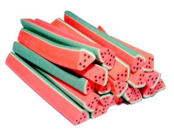 Triangular cane clay watermelon N2