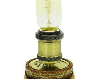 Mason Jar Edison Light