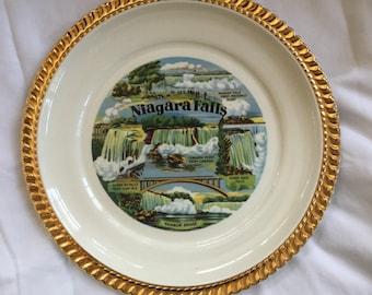 Vintage Niagara Falls Plate
