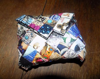 wallet is hand made