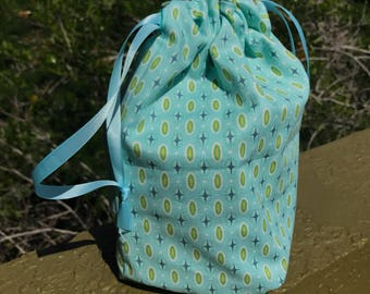 Medium project bag -Lined and Reversible