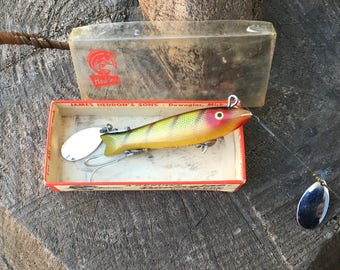 Heddon Dowagiac Spook Perch In Box 9100L Excellent!