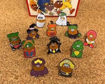 12-Pack of Halloween McNugget Enamel Pins