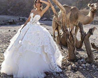 Pnina Tornai Inspired Wedding Dress