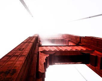 Golden Gate Bridge - San Francisco - Fine Art Photography Print -San Francisco Photography - Street Photography - Golden Gate Photography