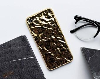 Chrome Gold iPhone Case iPhone X Case iPhone 8 Case iPhone 8 Plus Case iPhone 7 Case iPhone 7 Plus Case iPhone 6s Case iPhone 6s Plus Case