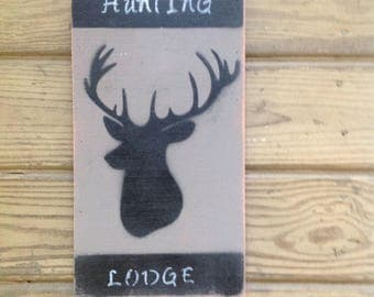 Hunting Lodge Sign