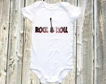 Band onesie - Cute rock & roll band baby bodysuit shirt