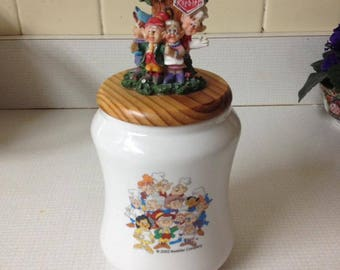 VTG Keebler Elves Elf Cookie Jar