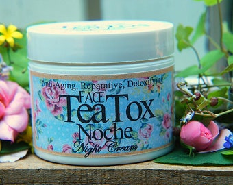 Tea Tox Noche Organic Nightime Face Cream