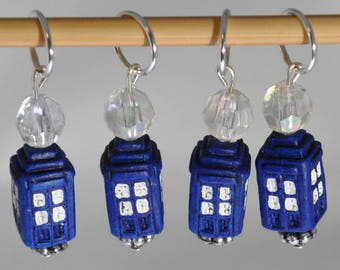 Tardis ST Marker set of 4
