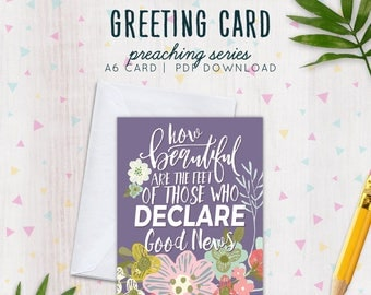 JW Card & Envelope | Printable Card | Pioneer Gift | Field Service Gift | Jehovah's Witnesses | JW | JW Card - Digital Download