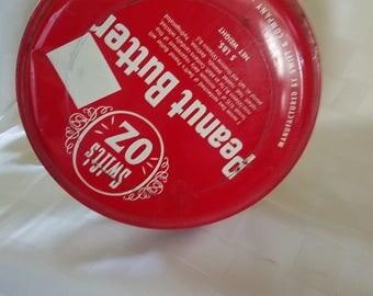 Vintage Swift's peanut butter tin 5 lbs.