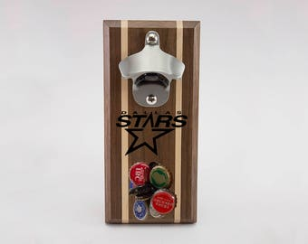 Dallas Stars Magnetic Bottle Opener