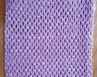 STRAPLESS stretch 2-6 years Lavender/Purple in CROCHET for the CREATION dress TUTU girl
