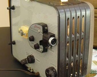 Vintage 8 MM Movie Projector Kodak Brownie Model 1, Family Home Movies, Eastman Kodak Co Brownie Projector, Compact Carrying Case, Old Kodak