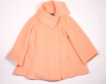 MONTANA - Flared wool coat