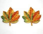 Leaf Motif - Autumn Maple...