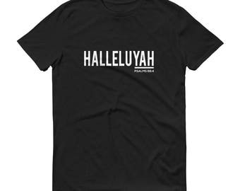 "Men's ""HALLELUYAH"" T-shirt (100% Cotton)"