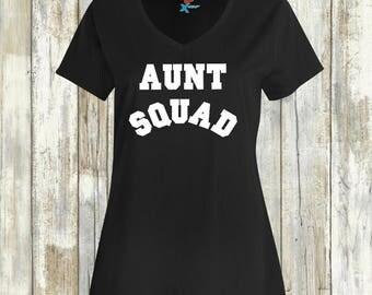 AUNT SQUAD, aunt shirt, im an aunt,