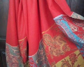Sweden Wool shawl,made for Bokklubben Nye Boker.1990's