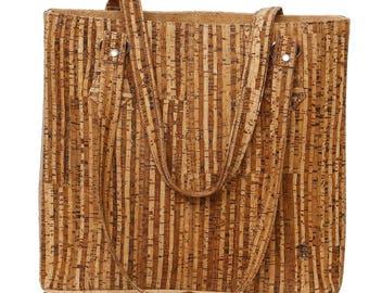 """Cork handle bag """"Hawai'i"""""""