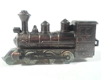 Vintage train decor