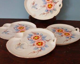 Vintage Japanese Snack Plates