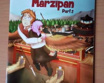 Bubblegum and Marzipan Part 2 Comic book A5 original artwork