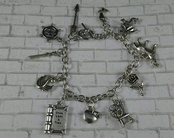 Once Upon a Time Inspired Charm Bracelet