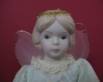 Vintage 11' Little Angel Tree Topper