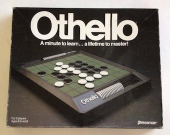 Vintage 1990 OTHELLO Game by Pressman