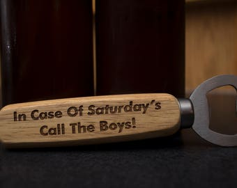Personalized Bottle Opener, Engraved Bottle Opener, Groomsmen Gift, Custom Bottle Opener, Boyfriend Gift, Wedding Party Gifts