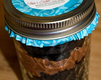 Special State Flavors Cupcakes In A Jar