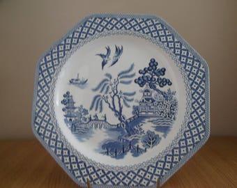 J&G Meakin Willow Dinner Plate