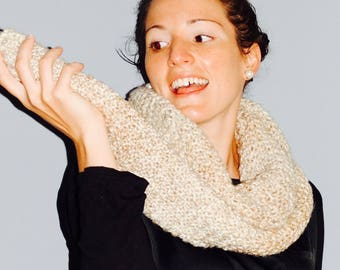 Knitted Long Cozy Scarf