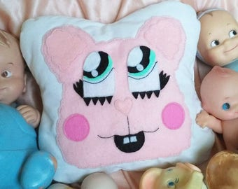 Mr Soft Serve cry baby inspired plushie