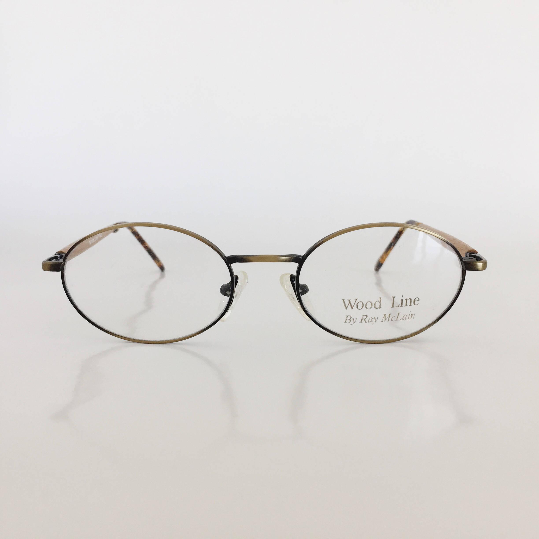 Wood Frame Glasses, Vintage Frames, Vintage Eyeglasses, Woodline ...
