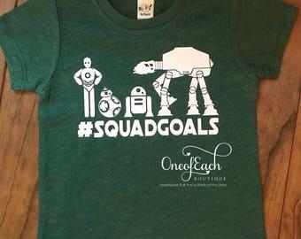 Star Wars #squadgoals Tee