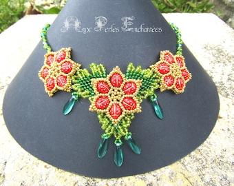 "Necklace ""Awaiting spring"""