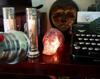 Indiana Jones style flashlight, vintage torch, retro lamp, cosplay and movie prop replica