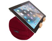 Chili Pepper Red - The eZView Tablet Bolster - Made in USA - Eco-Friendly - Perfect Tablet Holder for Hands-Free Viewing on Bed and Sofa