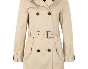 Ladies trench coat (size: M) (available in stock)