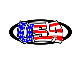 USA Decal, Sticker