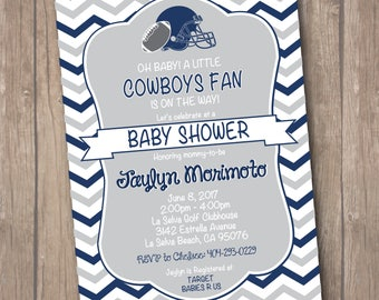 Cowboy Inspired Baby Shower Invitation