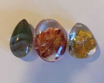 Lodolite, Phantom Quartz, Pendant, necklace