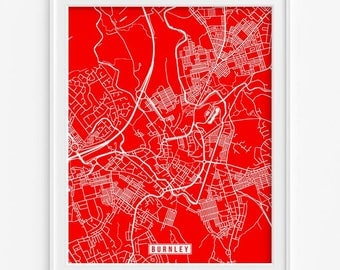 Leipzig Print Germany Poster Leipzig Poster Leipzig Map