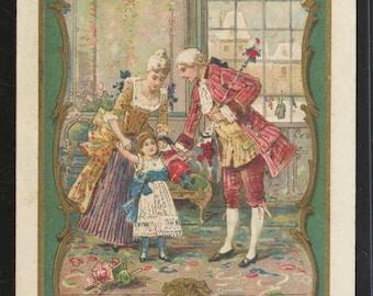 Victorian trade cards Au Bon Marche