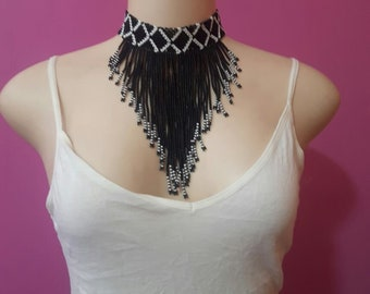 maasai necklace / beaded necklace / african necklace / tribal necklace